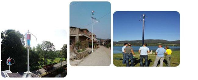 600W48V垂直轴风力发电机 风力发电机发电系统