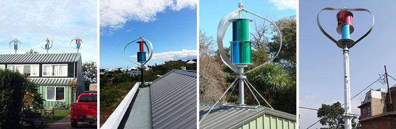 垂直轴风力发电机1000W24V/48V 风力发电机供电系统