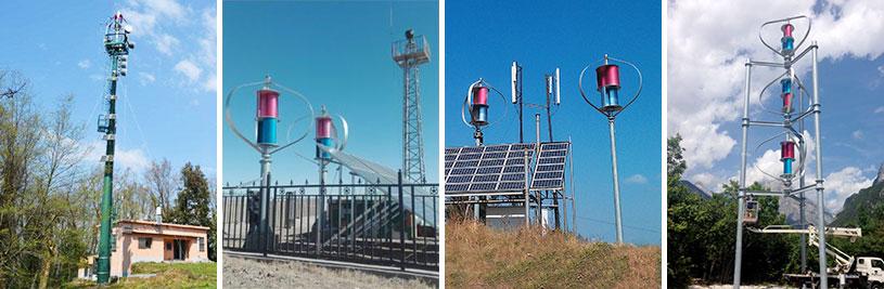 垂直轴风力发电机1500W48V/96V 风力发电机发电系统
