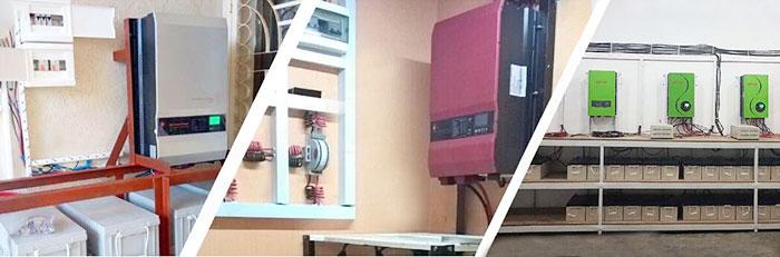 工频离网逆变器系统应用
