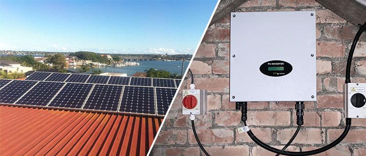 U-2500-6000MTL-S单相户用并网逆变器 太阳能并网系统