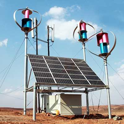 风光互补通信基站系统
