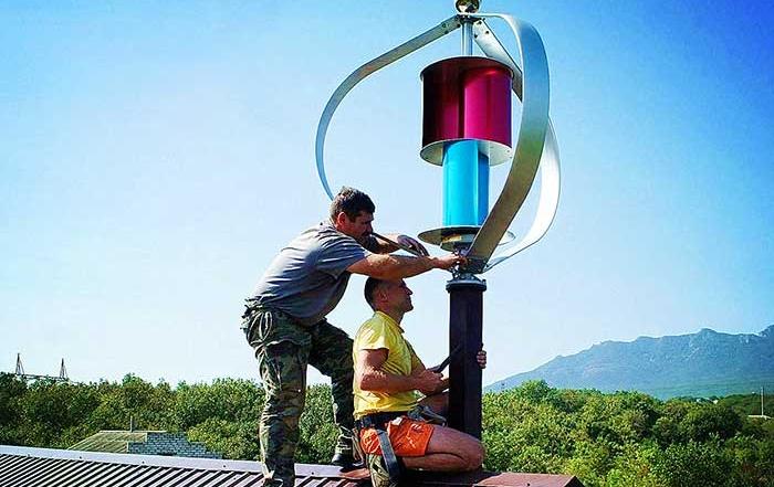 磁悬浮风力发电机600W24V