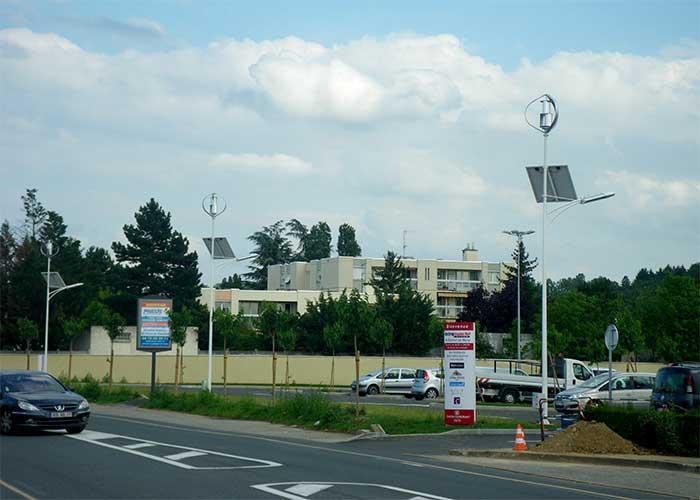 风光互补路灯系统城市照明系统