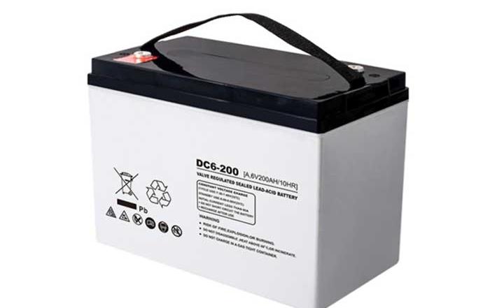 6V200Ah系列UDC深循环铅酸蓄电池