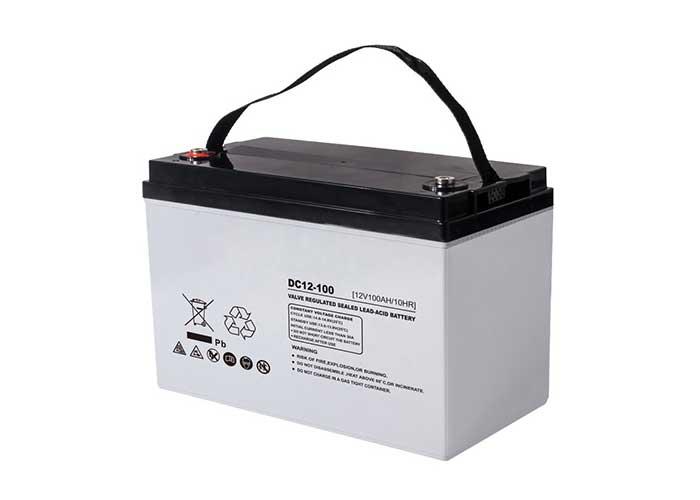 12V100Ah系列UDC深循环铅酸蓄电池