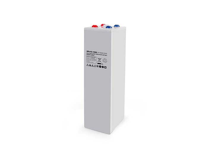 2V1500Ah系列OPzV管式铅酸蓄电池