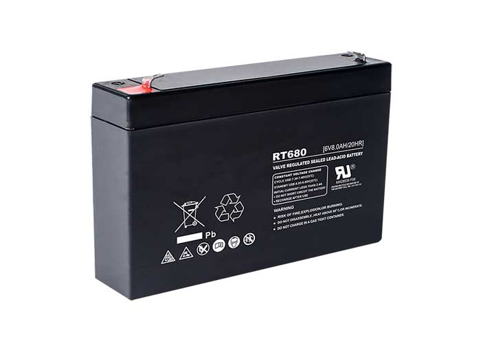 6V10Ah系列URT-AGM铅酸蓄电池