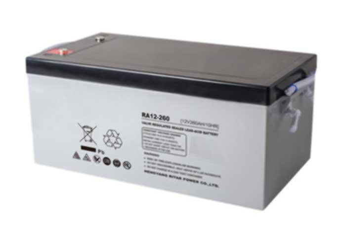 12V260Ah系列URA-AGM铅酸蓄电池