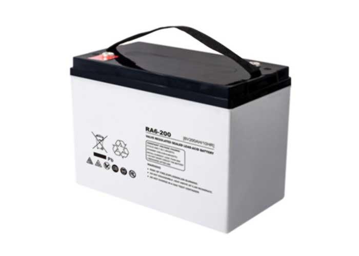 6V200Ah系列URA-AGM铅酸蓄电池