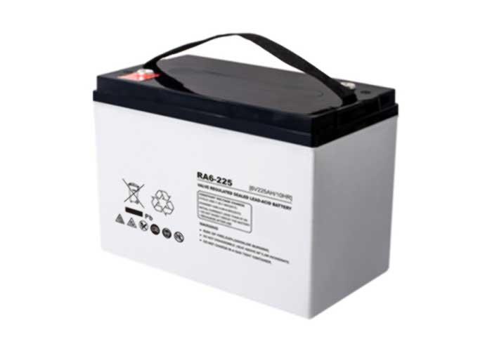 6V220Ah系列URA-AGM铅酸蓄电池