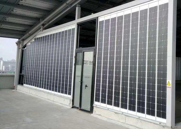 U型单晶硅太阳能板-幕墙太阳能板