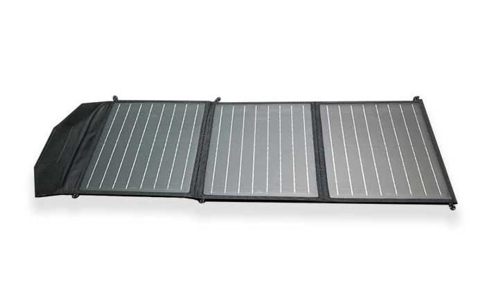 55W-18V单晶硅太阳能折叠包