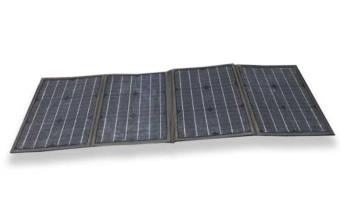 80W-18V单晶硅太阳能折叠包