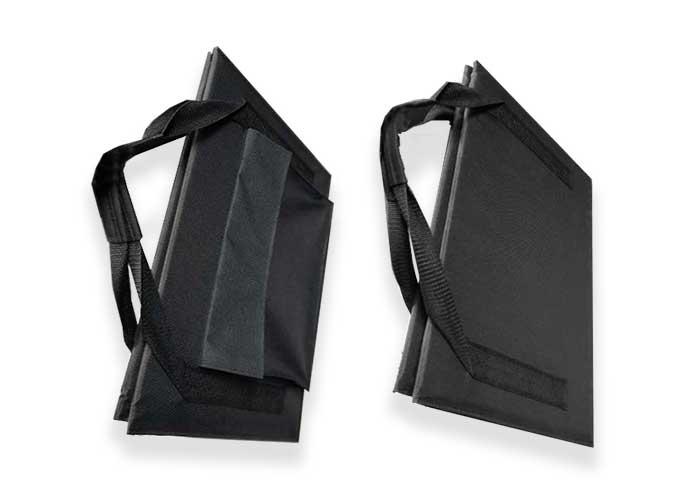 80W-100W-18V单晶硅太阳能折叠包 便携式太阳能板手提包