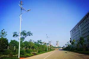 湖南长沙风光互补路灯系统
