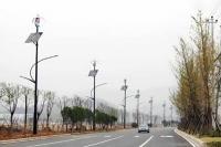杭州临安风光互补路灯系统