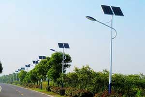 平原道路太阳能路灯系统工程