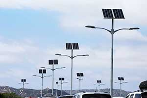 西部地区太阳能路灯系统工程