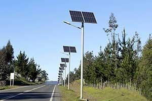 景区道路太阳能路灯系统工程