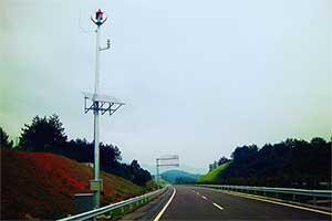 江西高速风光互补监控系统
