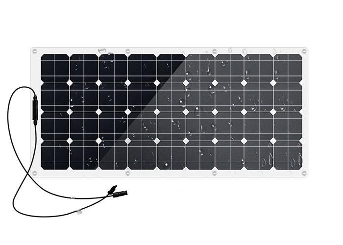 半柔性太阳能电池板90W,36V