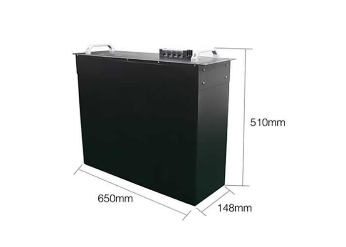 50AH 48V 通信基站电源 尺寸图