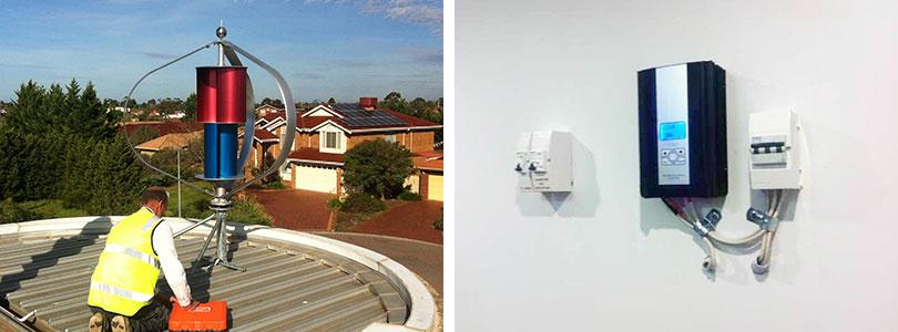 超智能风光互补控制器600W48V 风能太阳能发电系统
