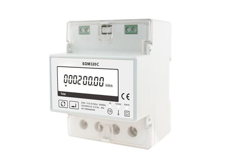 通讯总控开关 单相多功能电能表SDM320C 100A