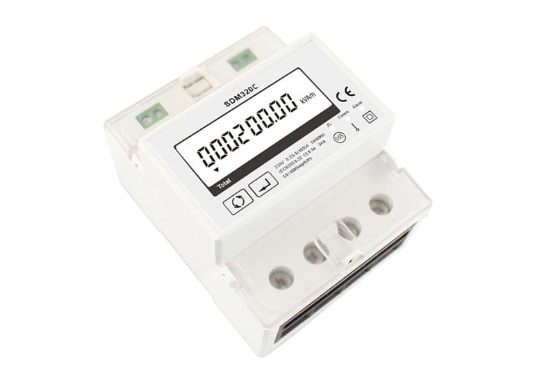 通讯总控开关 单相多功能电能表, 电能表