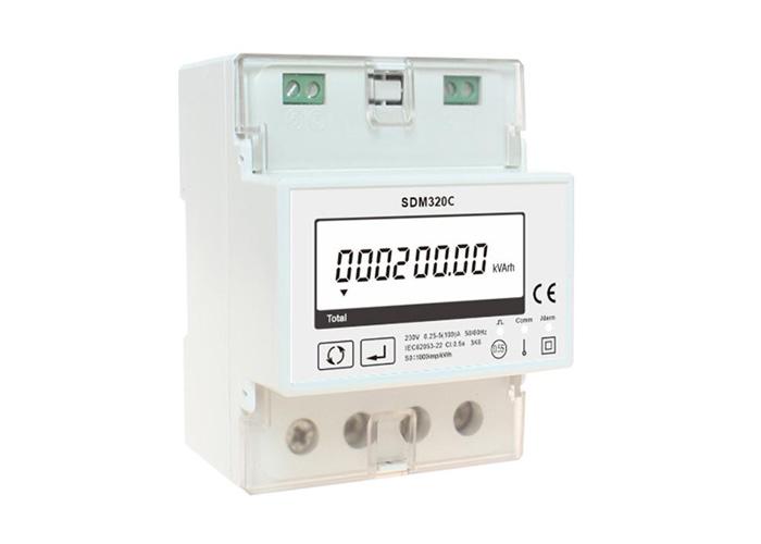 通讯总控开关 单相多功能电能表, 电表