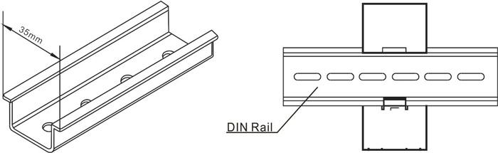 多功能单相电表SDM320C 100A 安装示意图