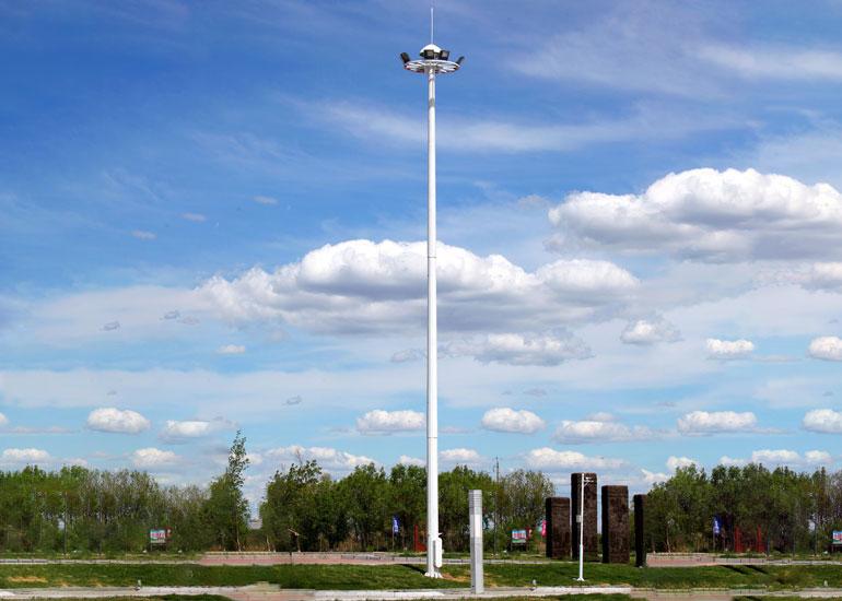 高杆灯照明塔杆