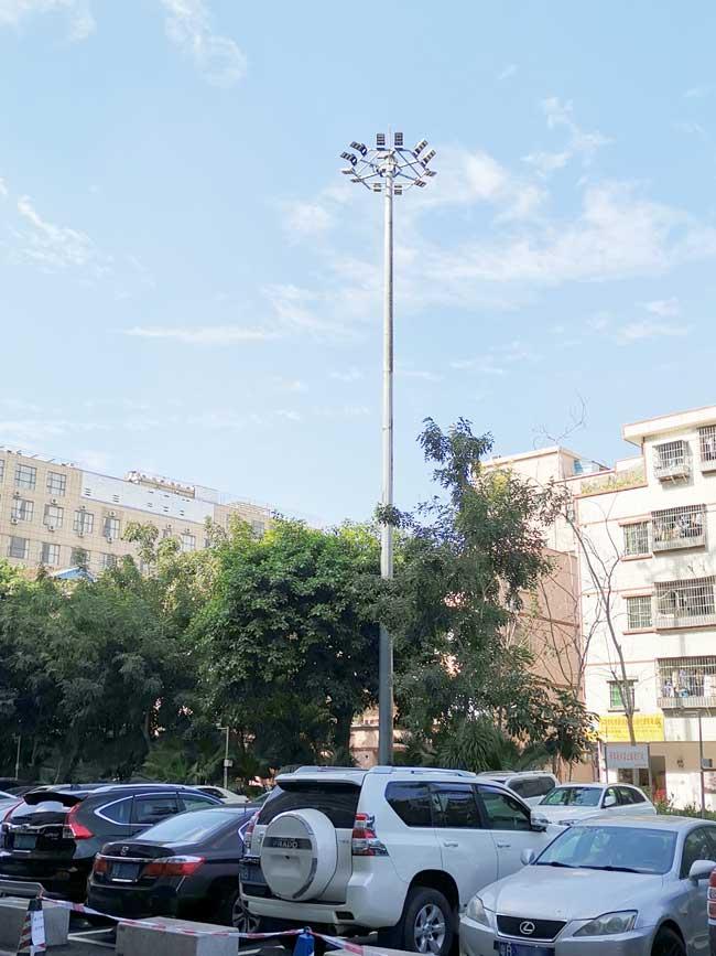 塔杆加工,高杆灯塔杆,高杆灯照明