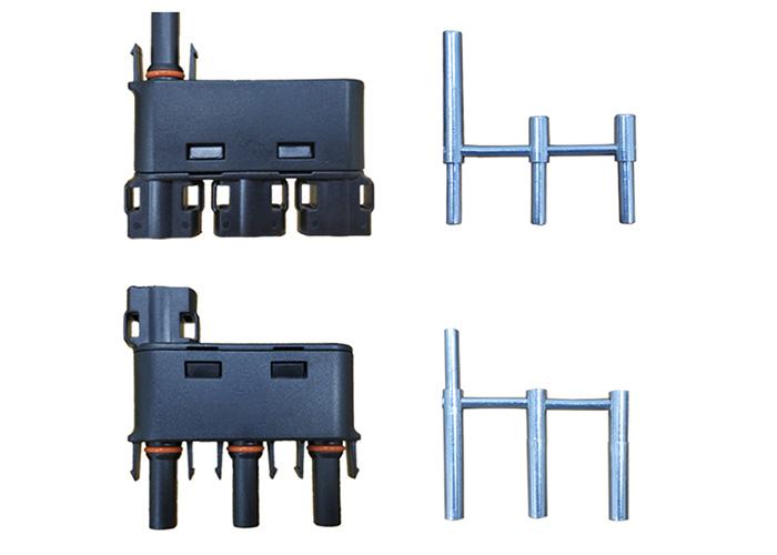 光伏分支连接器, 三进一出连接器