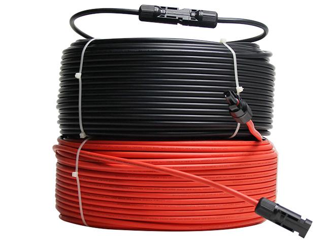 MC4连接器光伏延长电缆,MC4连接器延长线,光伏电缆线