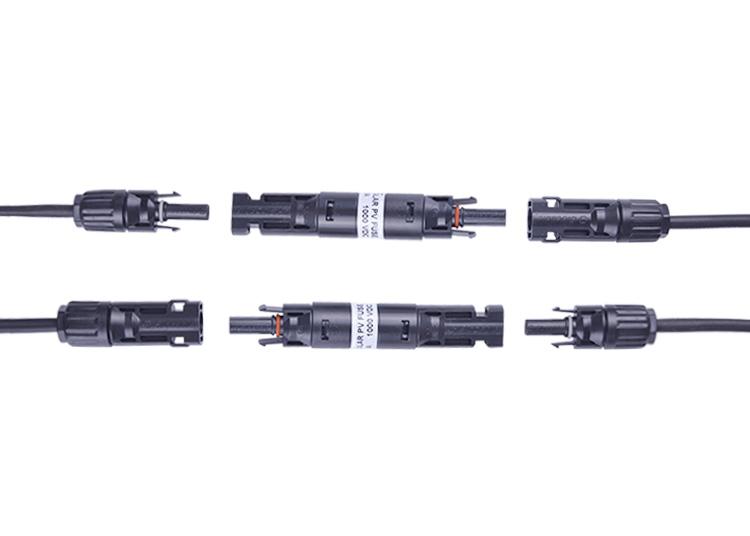 光伏MC4保险丝连接器,太阳能MC4保险丝连接器